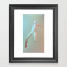 ORIGAMI v2 Framed Art Print