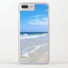 Beach Tulum 2 Clear iPhone Case