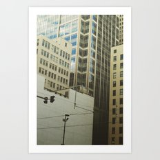Minneapolis Collage Art Print