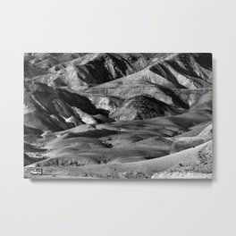 Driving across the Judean Desert Metal Print