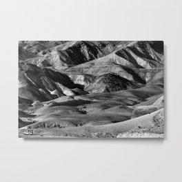 Driving across the Judean Desert Metal Print
