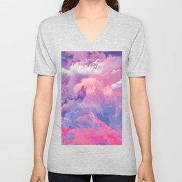 DREAMER Pastel Clouds Unisex V-Neck