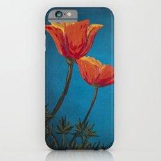 California Dreamin' - Orange Poppies  iPhone 6s Slim Case