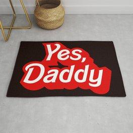 Yes Daddy DDLG Dom Sub Design Rug