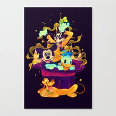 Trouble Makers Canvas Print