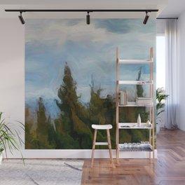Pining Wall Mural