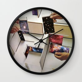 Putting the Universe in place Wall Clock