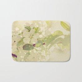 Vintage Apple Blossoms Bath Mat