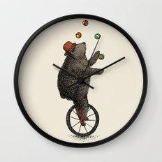The Juggler (color option) Wall Clock