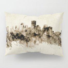 New Orleans Louisiana Skyline Pillow Sham