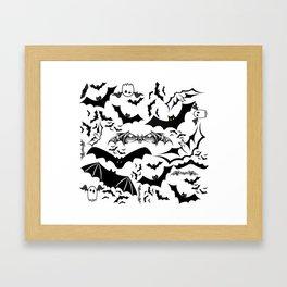Bats in the Belfry Framed Art Print