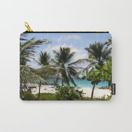 Caribbean Palms Carry-All Pouch