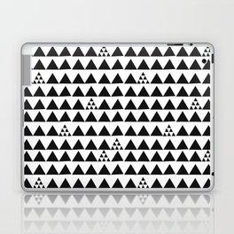 Black geometric print Laptop & iPad Skin