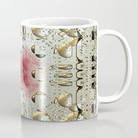 egyptian Mugs featuring Egyptian Style by Lynn Bolt