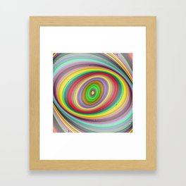 Happy brightness Framed Art Print