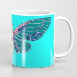 Flying Cicada Coffee Mug