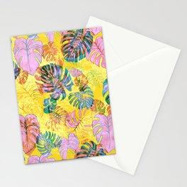 Kona Tropic Yellow Stationery Cards