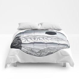 Wooden Bird Comforters
