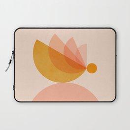 Abstraction_BIRD_Balance_Mountains_Minimalism_001 Laptop Sleeve