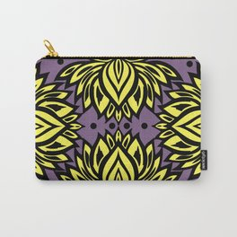 Waterlilies(purple background) Carry-All Pouch