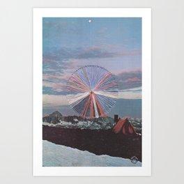 Sierra High Art Print