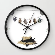 Took the Bait Wall Clock