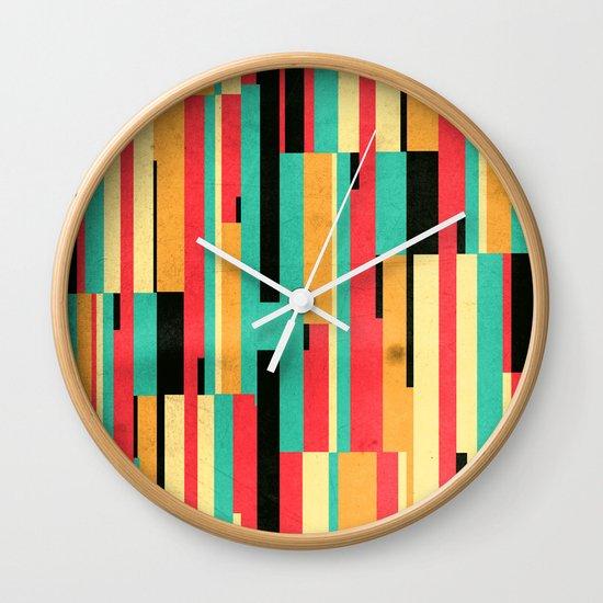 Kiko Pattern Wall Clock
