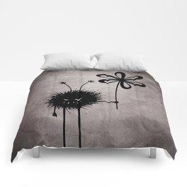Evil Flower Bug Comforters