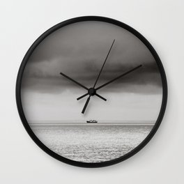 Balaton - boat Wall Clock
