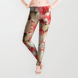 Magnolia Blossoms Leggings