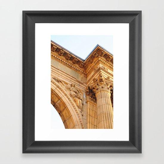 The Art of Stone Framed Art Print