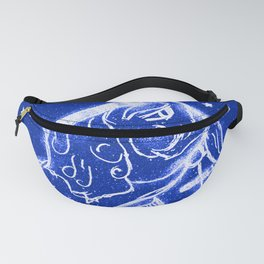 Nutcracker in Bright Blue Fanny Pack