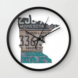 Vintage Minnesota Wall Clock