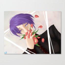 Flower Man Canvas Print