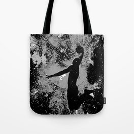 SLAM DUNK IN BLACK AND WHITE Tote Bag