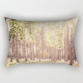 Spring Forest Rectangular Pillow