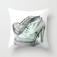 Shoe Fashion Throw Pillow