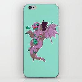Zombie Dragon iPhone Skin