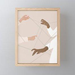 Wired Together Framed Mini Art Print