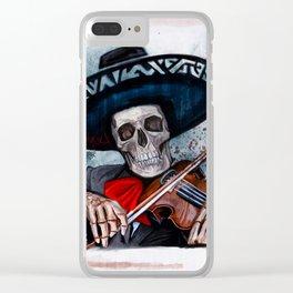 El Mariachi - Dia De Los Muertos Clear iPhone Case