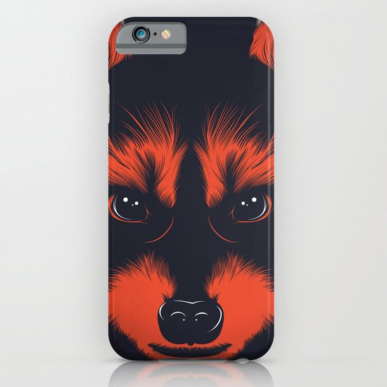 raccoon iPhone & iPod Case