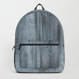 Snow and raindrops Backpack