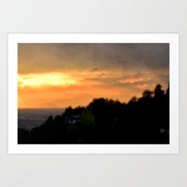 Torino Sunset No.2   Nadia Bonello Art Print