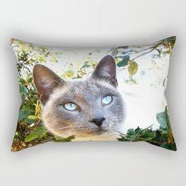 Siamese Cat in Tree Rectangular Pillow