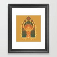 Princess of Flame Framed Art Print
