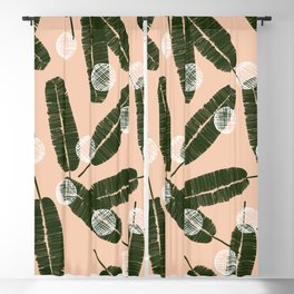 Palms & Dots #society6 #decor #buyart Blackout Curtain