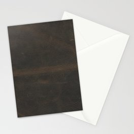 Vintage leather texture Stationery Cards
