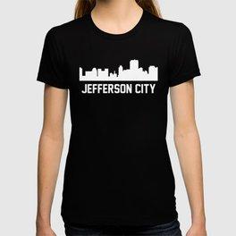 Jefferson City Missouri Skyline Cityscape T-shirt