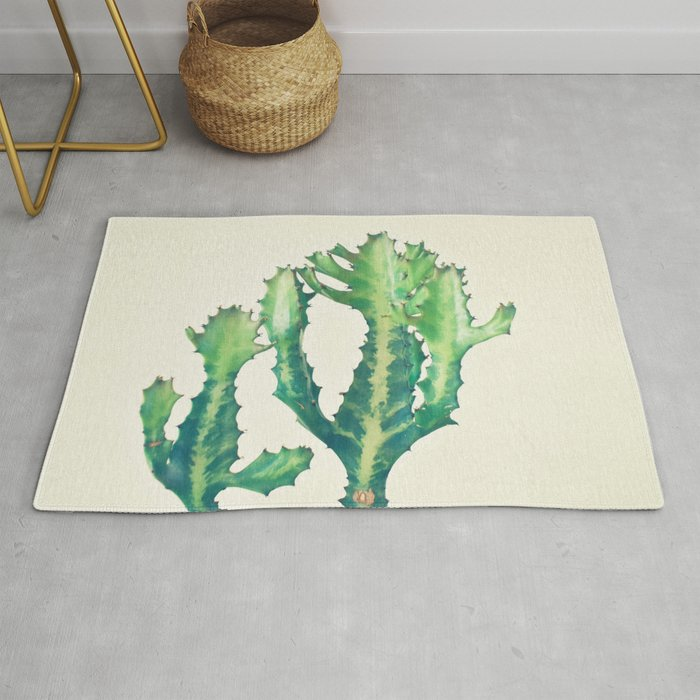 Dragon Bones Tree Rug by cassiabeck
