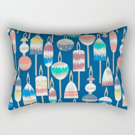 Lobster Bouys Marine Rectangular Pillow